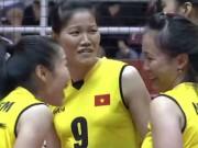 Thể thao - Bóng chuyền nữ Việt Nam - Iran: Khởi đầu chậm chạp, hạ màn tưng bừng (Vòng loại World Cup)