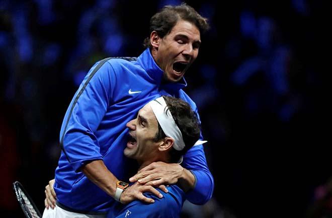 Laver Cup: Federer ngược dòng, cùng Nadal đoạt chức vô địch 1
