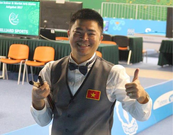 Quốc Nguyện xuất thần hạ nhà vô địch thế giới, đoạt Vàng bi-a châu Á 1