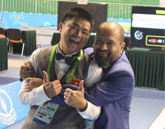 Quốc Nguyện xuất thần hạ nhà vô địch thế giới, đoạt Vàng bi-a châu Á 2