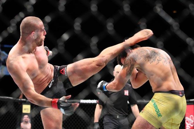 """UFC: Huyền thoại kiêm """"ma mới"""" cho """"Frankenstein"""" đi gặp bác sỹ 1"""