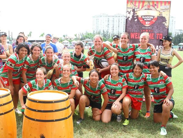 Ẩn số chức vô địch giải bóng bầu dục Wolf Blass Saigon 10's mùa 3 đã có lời giải 2