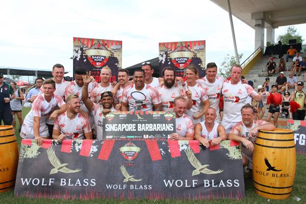 Ẩn số chức vô địch giải bóng bầu dục Wolf Blass Saigon 10's mùa 3 đã có lời giải 1