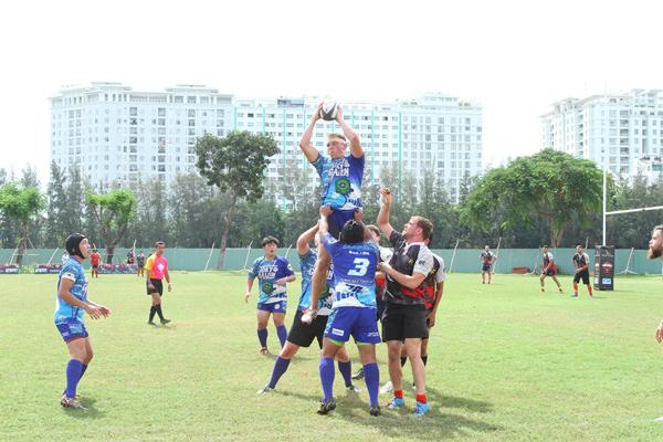 Ẩn số chức vô địch giải bóng bầu dục Wolf Blass Saigon 10's mùa 3 đã có lời giải 8