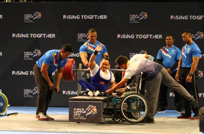 Asean Para Games 9: HCV danh giá từ những người vượt lên số phận 2