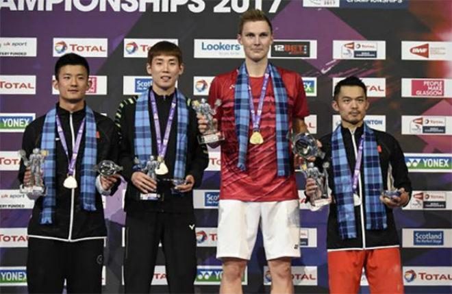 """""""Siêu nhân"""" cầu lông: Hạ bốn số 1 thế giới, Lee Chong Wei - Lin Dan ôm hận 2"""