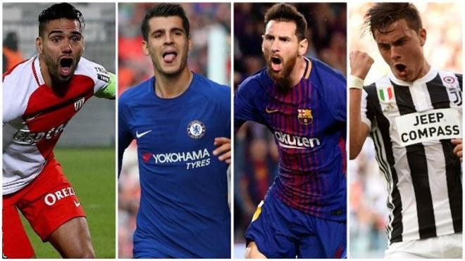 """Siêu sao """"dội bom"""": Messi 9 bàn thua 2 cao thủ, Ronaldo sút nhiều kém kẻ vô danh 1"""