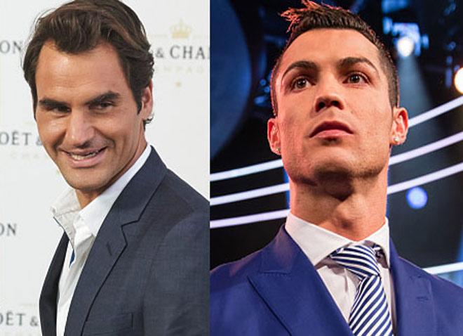 """VĐV """"pin khỏe nhất"""" 2017: Federer sau Ronaldo, trên muôn người 1"""