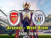 Arsenal - West Brom: Không được phép sa chân