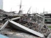 Sốc: Trường mầm non ở Hà Nội bất ngờ đổ sập