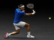 """Thể thao - Clip hot tennis: Federer biến """"rác"""" thành kiệt tác"""