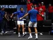 Thể thao - Tennis 24/7: Vô địch Laver Cup, Nadal từ chối kết đôi với Federer