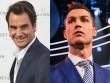 """VĐV  """" pin khỏe nhất """"  2017: Federer sau Ronaldo, trên muôn người"""