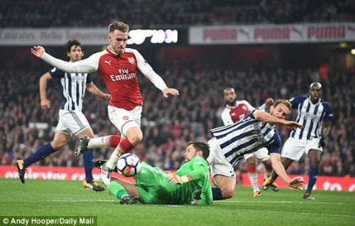 Chi tiết Arsenal - West Brom: Chỉ cần một người hùng (KT) 7