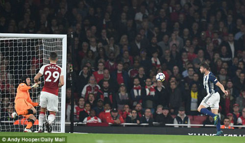 Chi tiết Arsenal - West Brom: Chỉ cần một người hùng (KT) 6