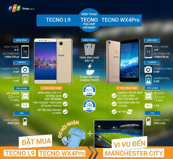 Lý do bạn nên sở hữu smartphone Tecno ngay hôm nay tại FPT Shop - 1