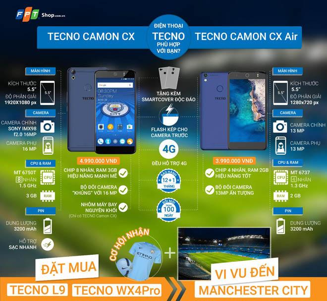 Lý do bạn nên sở hữu smartphone Tecno ngay hôm nay tại FPT Shop - 2