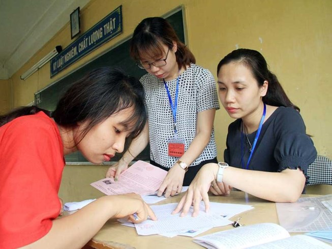 Lộ trình thi THPT, tuyển sinh ĐH năm 2018 - 1