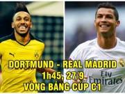 """Dortmund - Real Madrid: Chờ Ronaldo hóa  """" siêu nhân """"  đấu  """" người Dơi """""""