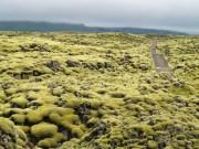 Cánh đồng dung nham như trên hành tinh khác ở Iceland