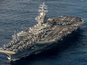 Siêu tàu sân bay Mỹ sắp  tiến vào vùng biển Triều Tiên ?