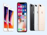 """Thời trang Hi-tech - NGHỊCH CẢNH: iPhone X chưa hết """"nóng"""", iPhone 8 vẫn đìu hiu"""