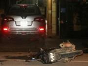 Va chạm với xe của Bí thư Huyện ủy, 2 người nguy kịch