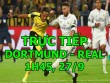 TRỰC TIẾP bóng đá Dortmund - Real Madrid: Ronaldo đá chính, Asensio dự bị
