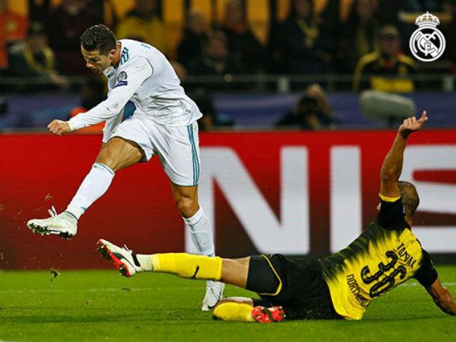 """Dortmund - Real Madrid: Ronaldo """"lên đồng"""", tiệc tấn công mãn nhãn"""