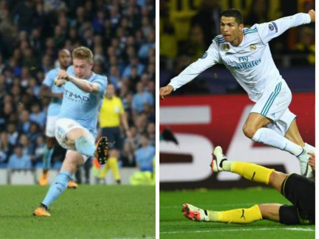 Ronaldo chói lọi 400 trận: Vua ghi bàn Cúp C1, Messi khóc ròng quy phục 14