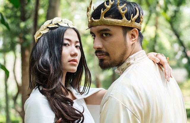 Chi hơn 300 triệu để có đám cưới như vua chúa trong phim - 1