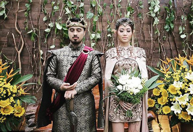 Chi hơn 300 triệu để có đám cưới như vua chúa trong phim - 11