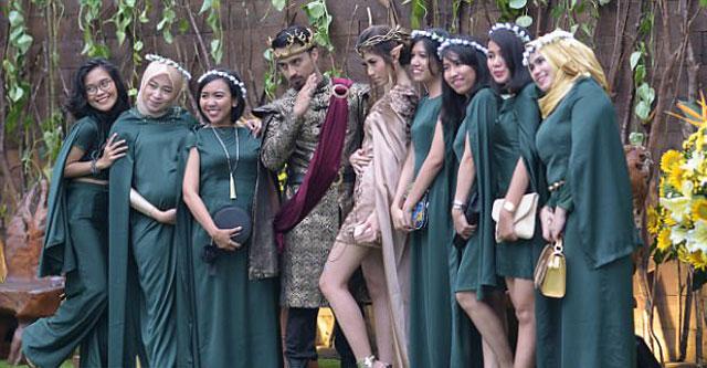 Chi hơn 300 triệu để có đám cưới như vua chúa trong phim - 12