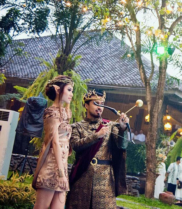 Chi hơn 300 triệu để có đám cưới như vua chúa trong phim - 9