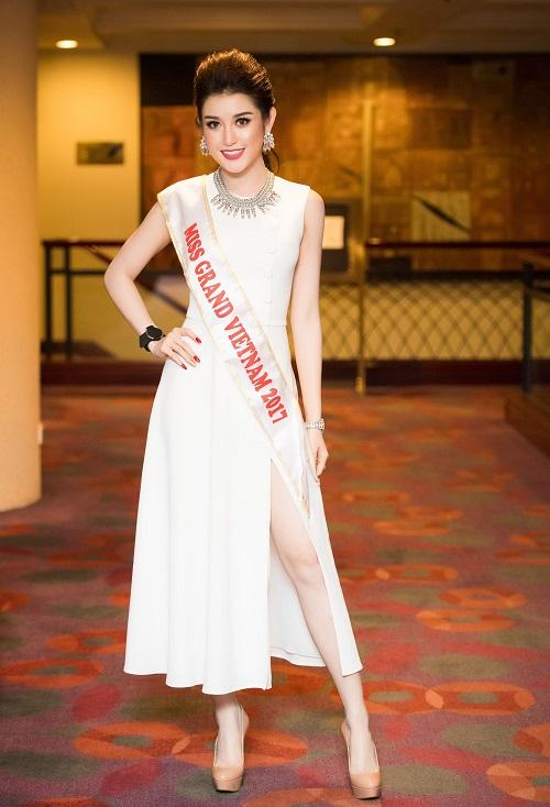 """""""Địch thủ"""" xinh đẹp từ Lào, Thái, Campuchia của Huyền My tại Miss Grand"""