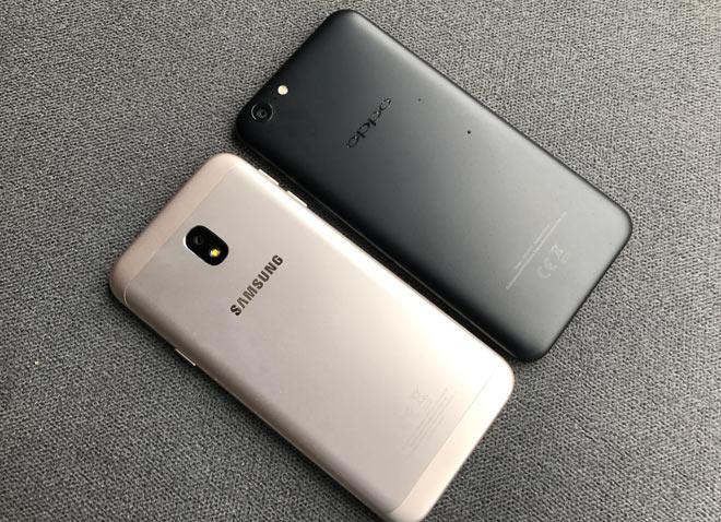 Chọn smartphone dưới 5 triệu: Oppo A71 hay Galaxy J3 Pro 2017? - 2
