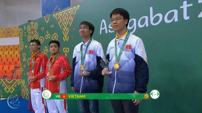 Quang Liêm thắng cao thủ Trung Quốc, đoạt 3 HCV châu Á: Tiếng gọi đẳng cấp 2