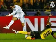 """Dortmund - Real Madrid: Ronaldo  """" lên đồng """" , tiệc tấn công mãn nhãn"""