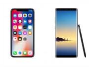"""Thời trang Hi-tech - KHẢO SÁT: Người dùng """"chuộng"""" Galaxy Note 8 hơn iPhone X"""