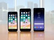 Thời trang Hi-tech - iPhone 8 Plus đọ độ bền Galaxy Note 8 trong bài kiểm tra thả rơi