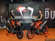 KTM Duke 250 và Duke 390 2017 chính thức ra mắt