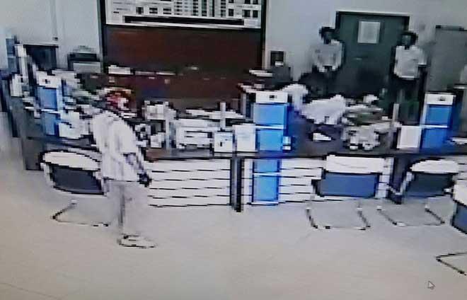 Lộ mặt nghi phạm cầm súng cướp ngân hàng ở Vĩnh Long