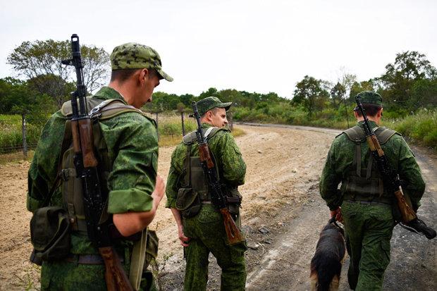 Binh sĩ Nga dồn dập áp sát biên giới Triều Tiên