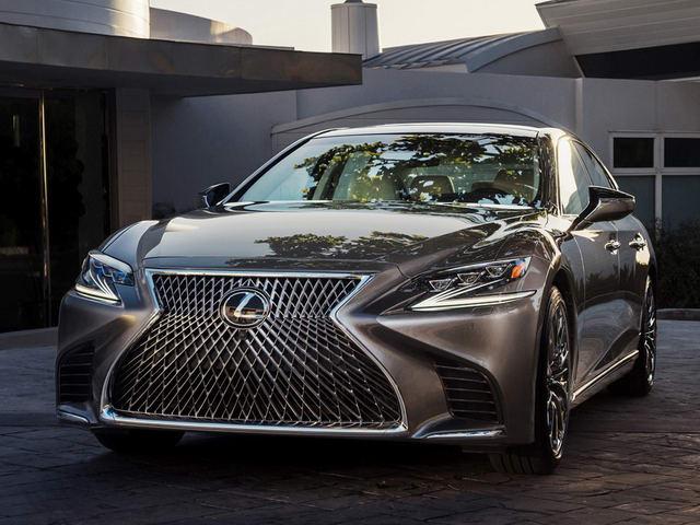 Lexus LS500 2018 có giá khởi điểm 1,7 tỷ đồng