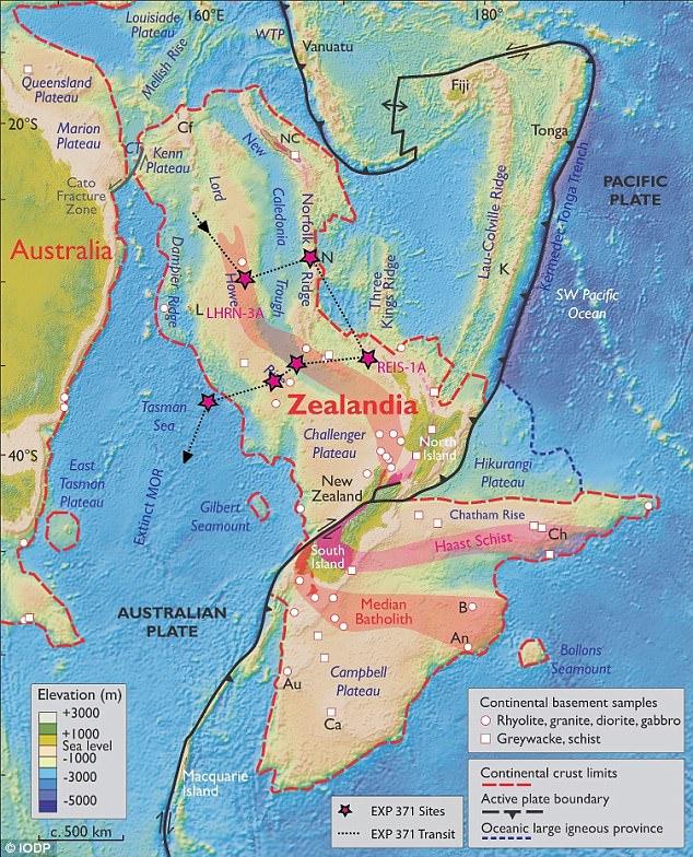 Hé lộ bí mật châu lục ngầm 5 triệu km2 dưới Thái Bình Dương - 1