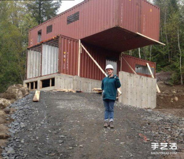 Biệt thự đẹp như mơ được cải tạo từ... thùng container - 1