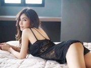 Mất ngủ vì dàn mẫu đẹp châu Á diện đồ ngủ mỏng manh