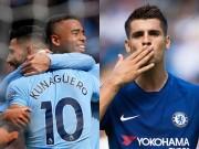 Chelsea đấu Man City: Morata chấp hết  4 tay súng oai hùng
