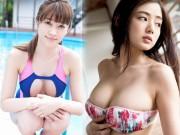 """Thời trang - Cặp mẫu Nhật có vòng 1 """"áp đảo tất cả"""" khiến fan phát sốt"""
