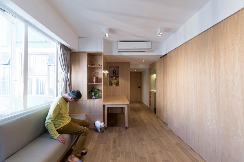 Thiết kế siêu thông minh biến căn nhà nhỏ trở nên rộng rãi hơn hẳn - 3